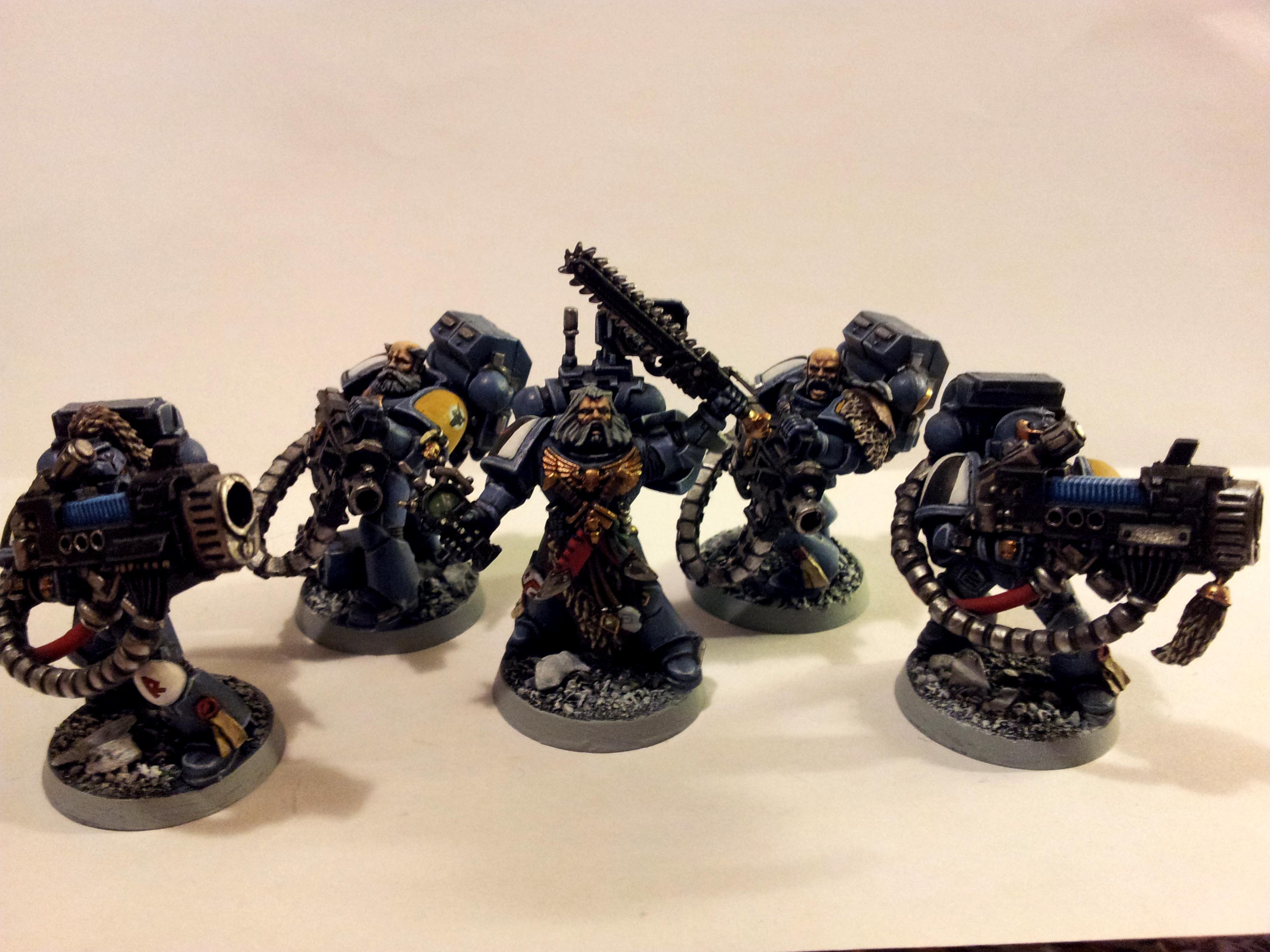 Heavy Weapon, Long Fangs, Plasma Cannon, Space Marines, Spasce Wolves