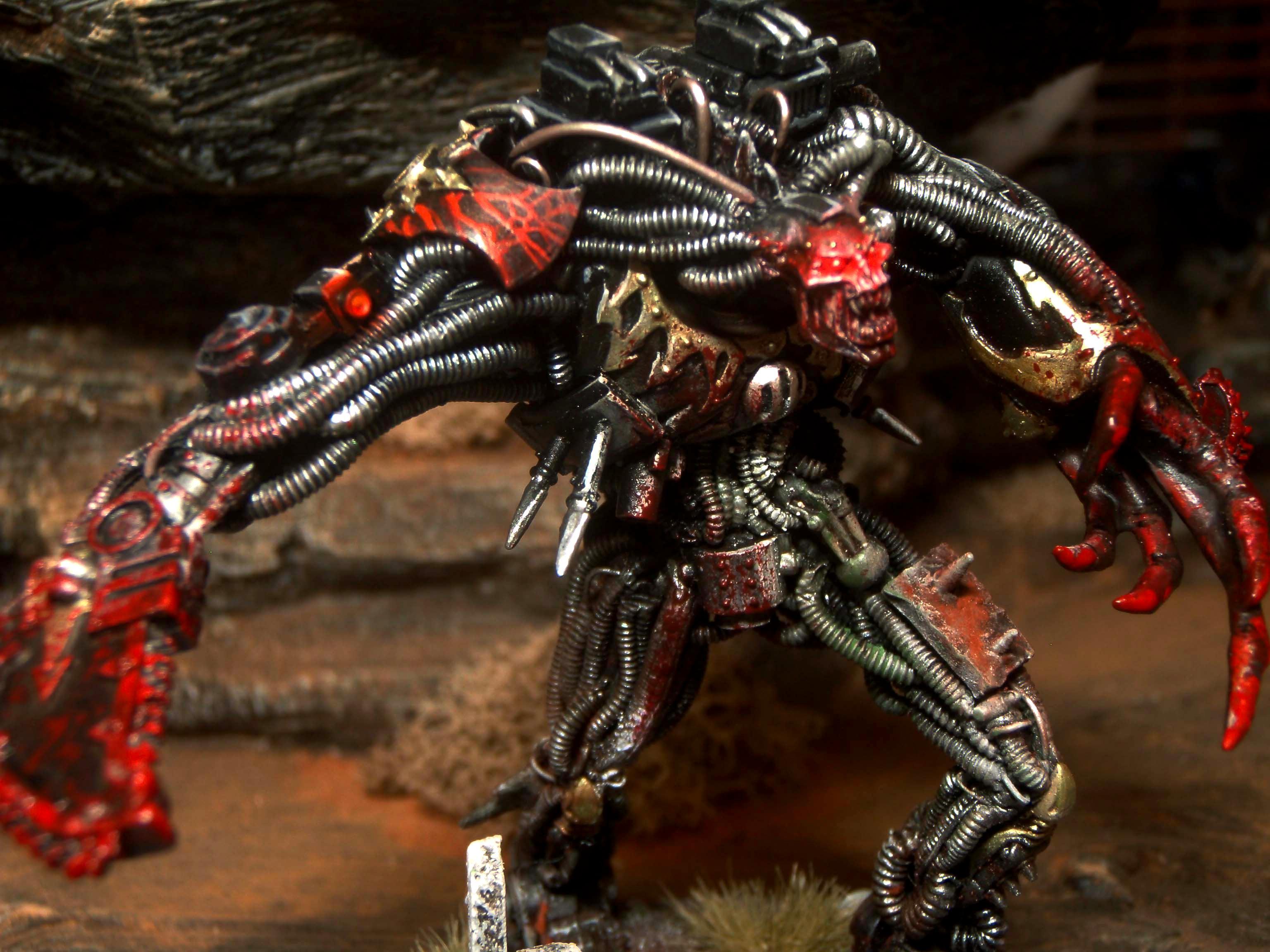 Chaos, Conversion, Daemon Prince, Scratch Build
