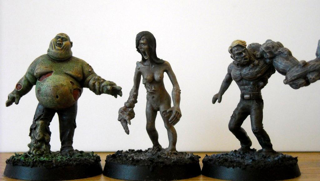 Zombies from Tengu