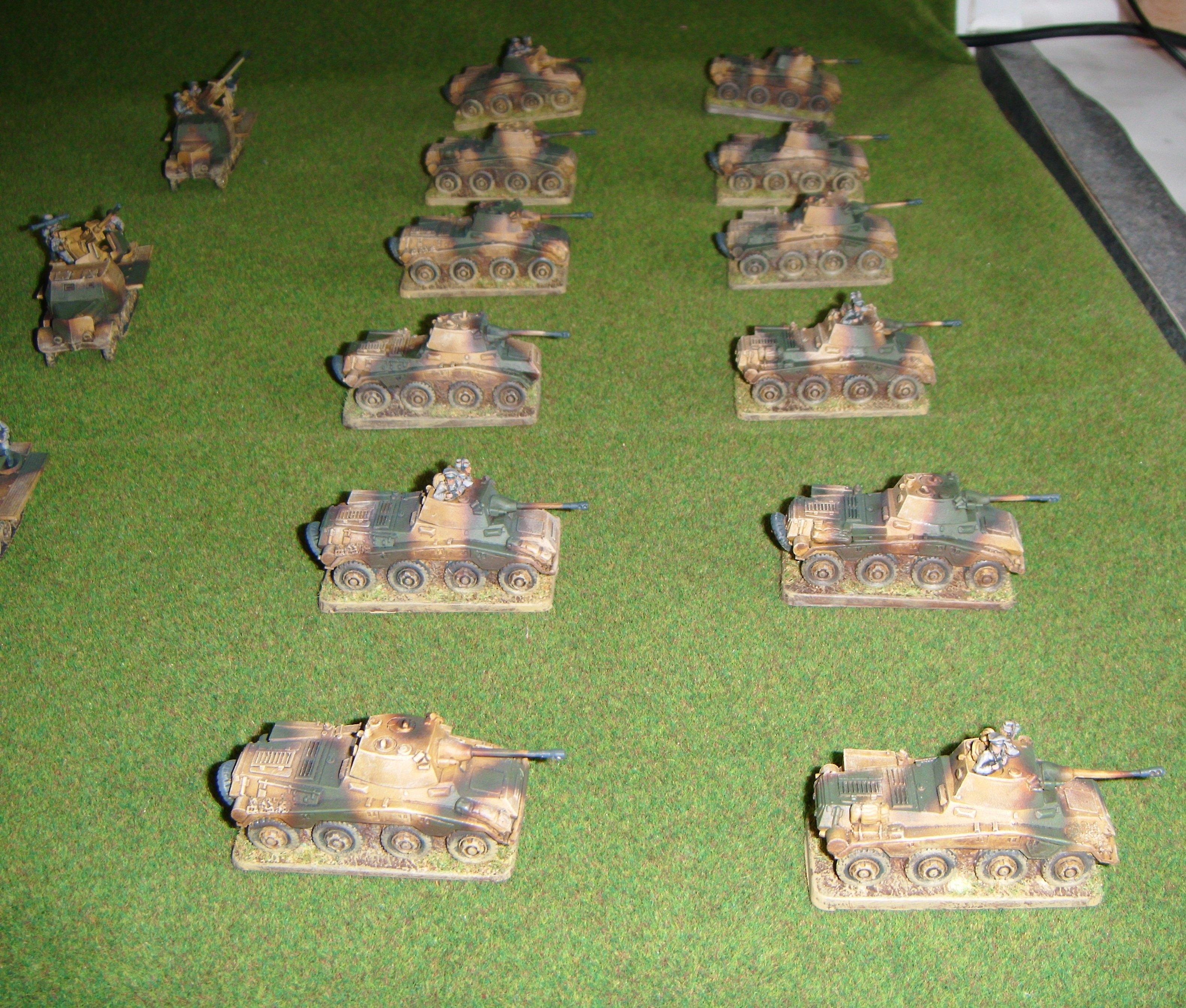 Aufklarungs, Flames Of War, Germans