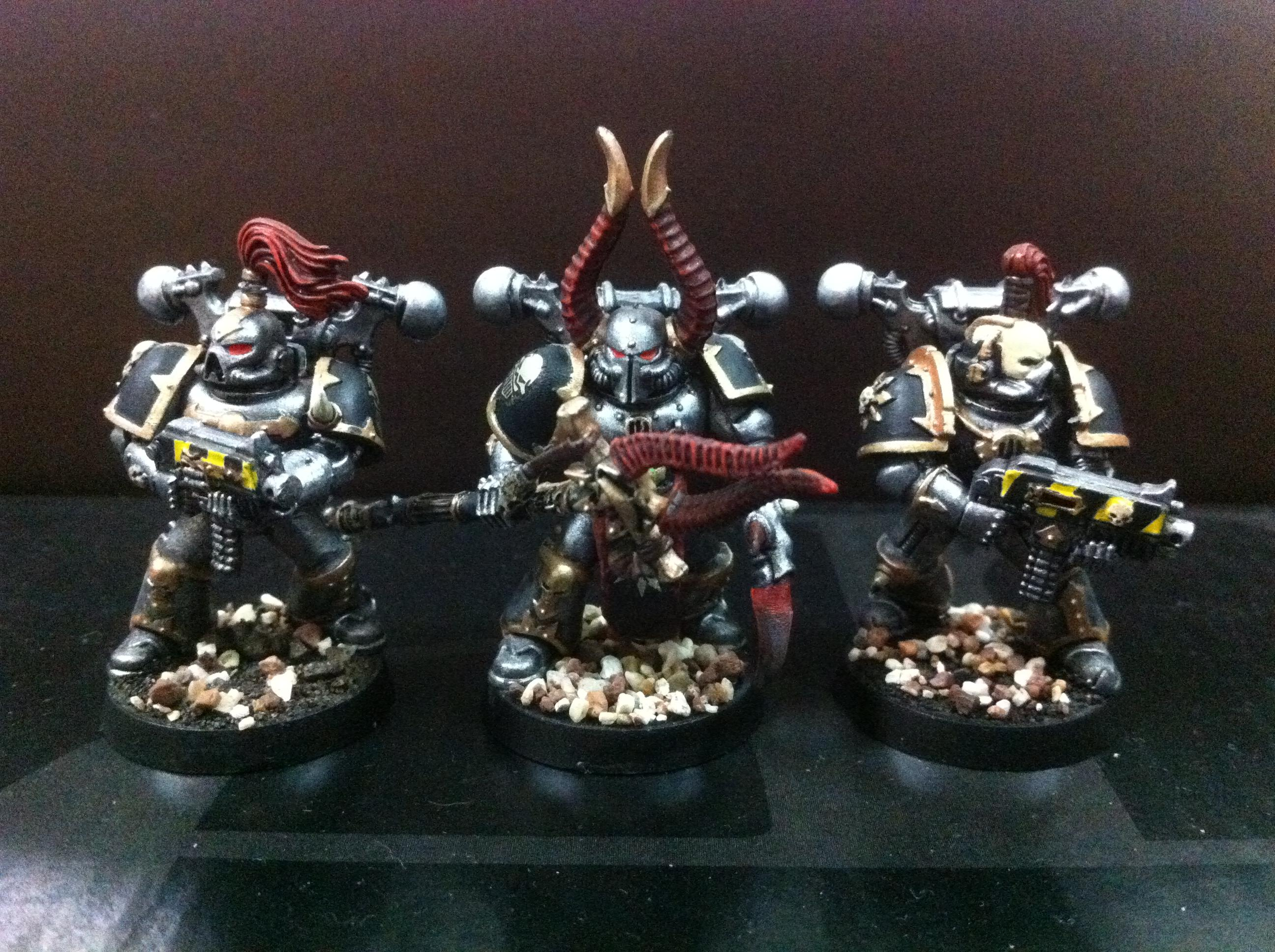 Chaos, Iron Warriors, Space, Space Marines