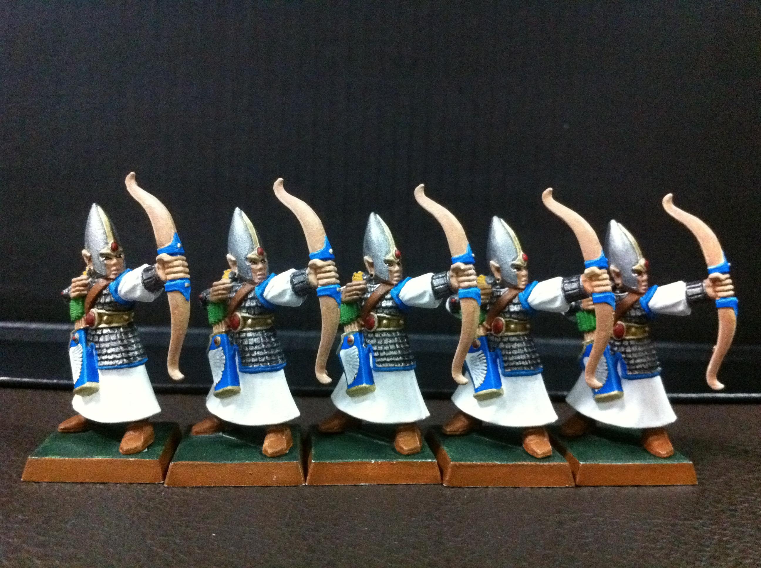 Archers, Bowmen, Elves, High