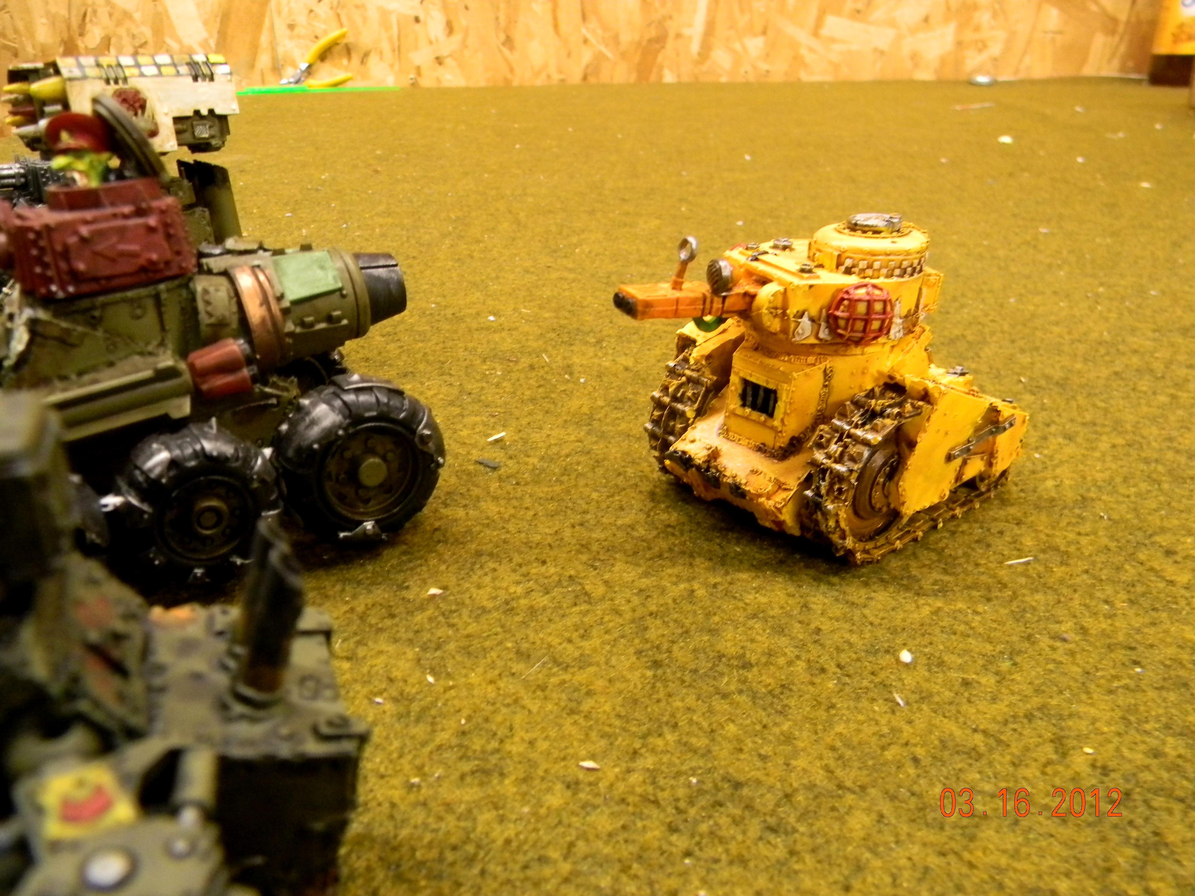 Grot Tank, Grots, Orks