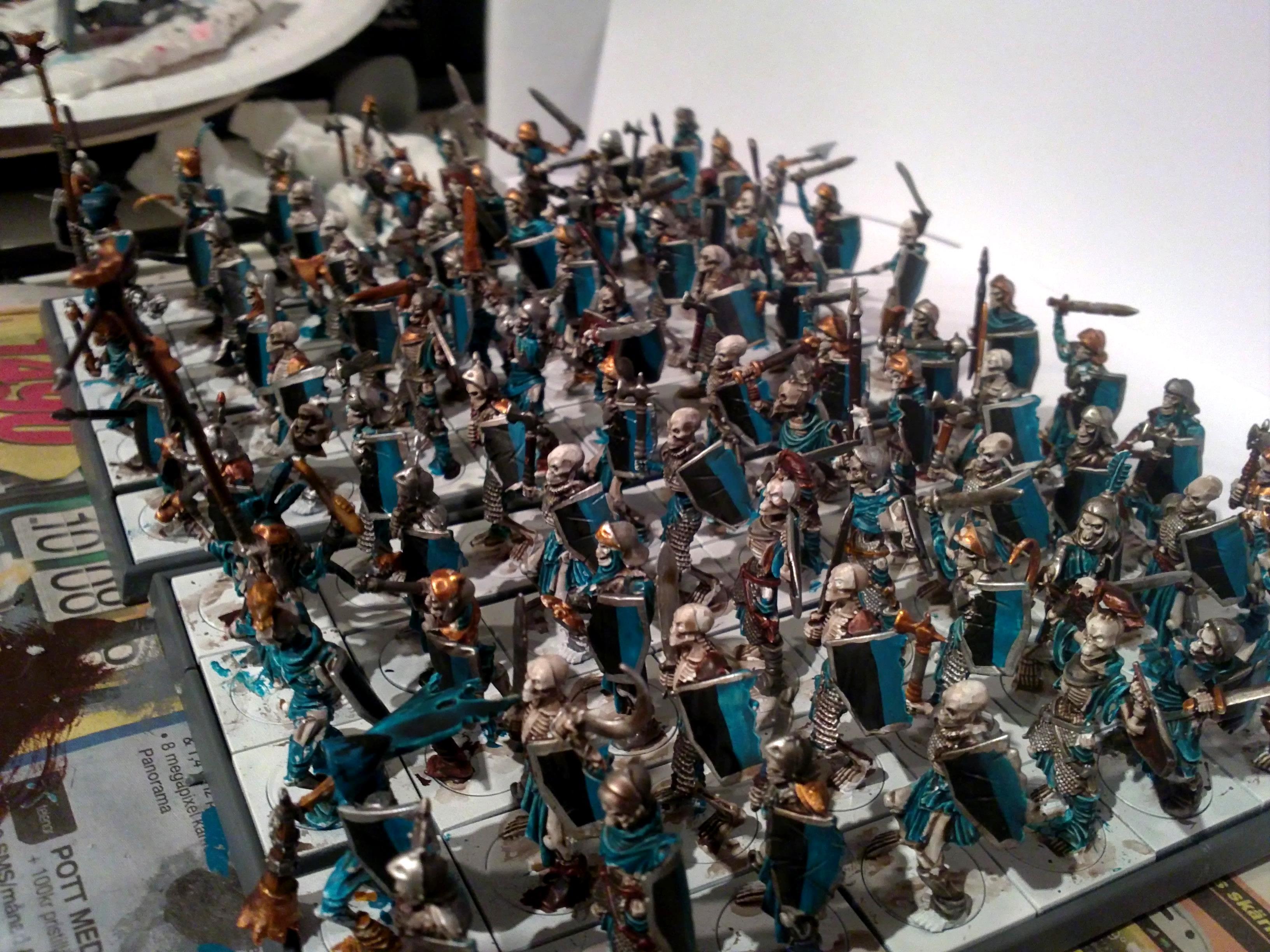 Horde, Mantic Games, Painted, Skeletons
