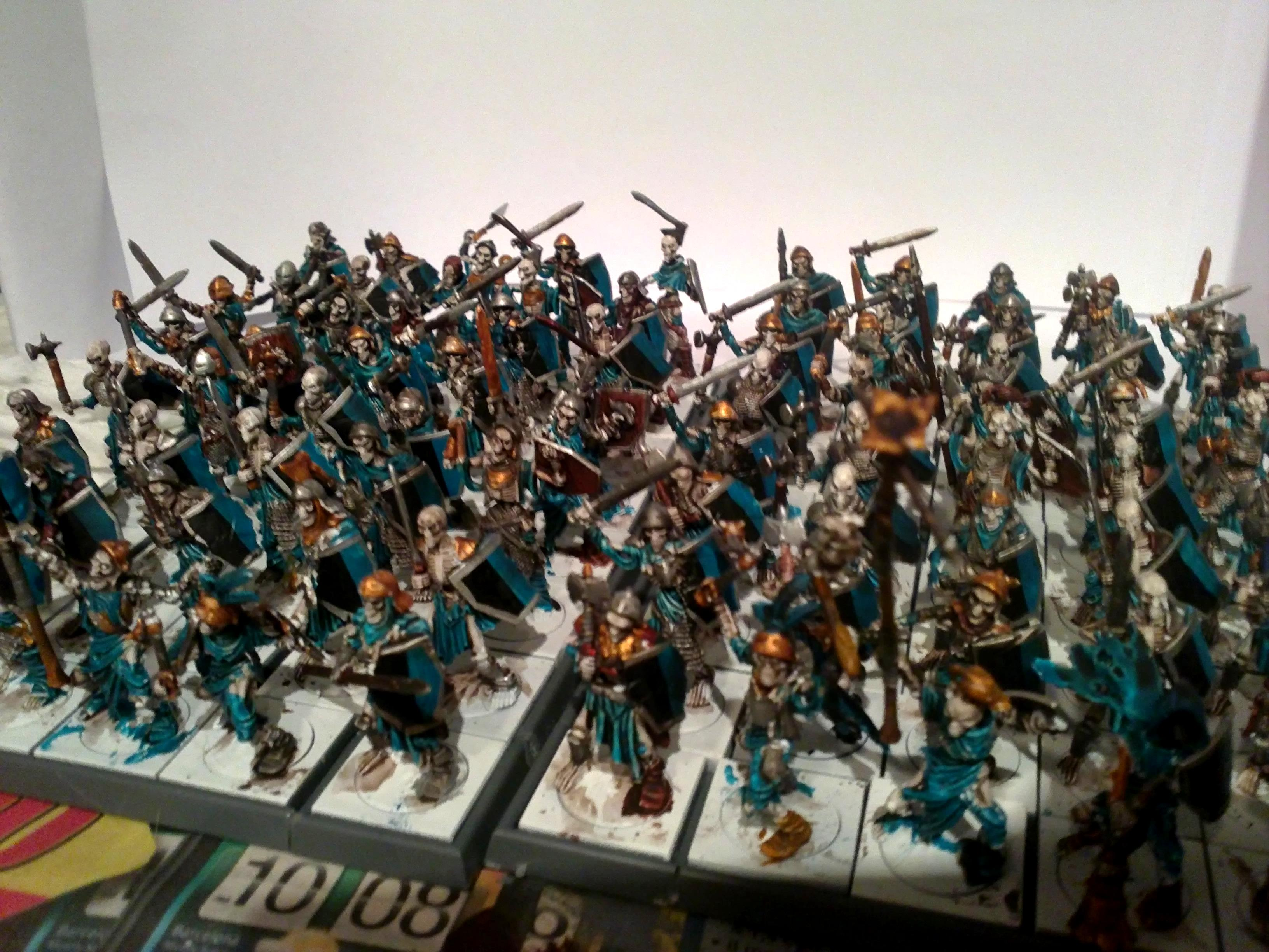 Horde, Mantic Games, Painted, Skeletons