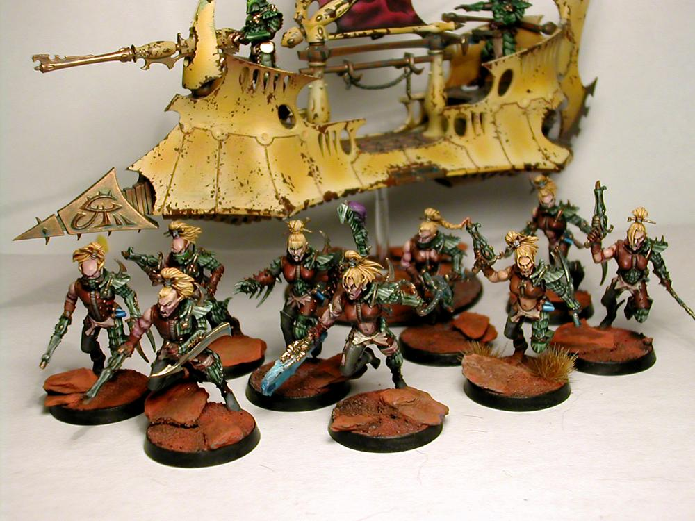Dark Eldar, Raider, Wych, Wyches