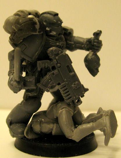 Conversion, Eldar, Games Workshop, Space Marines, Warhammer 40,000