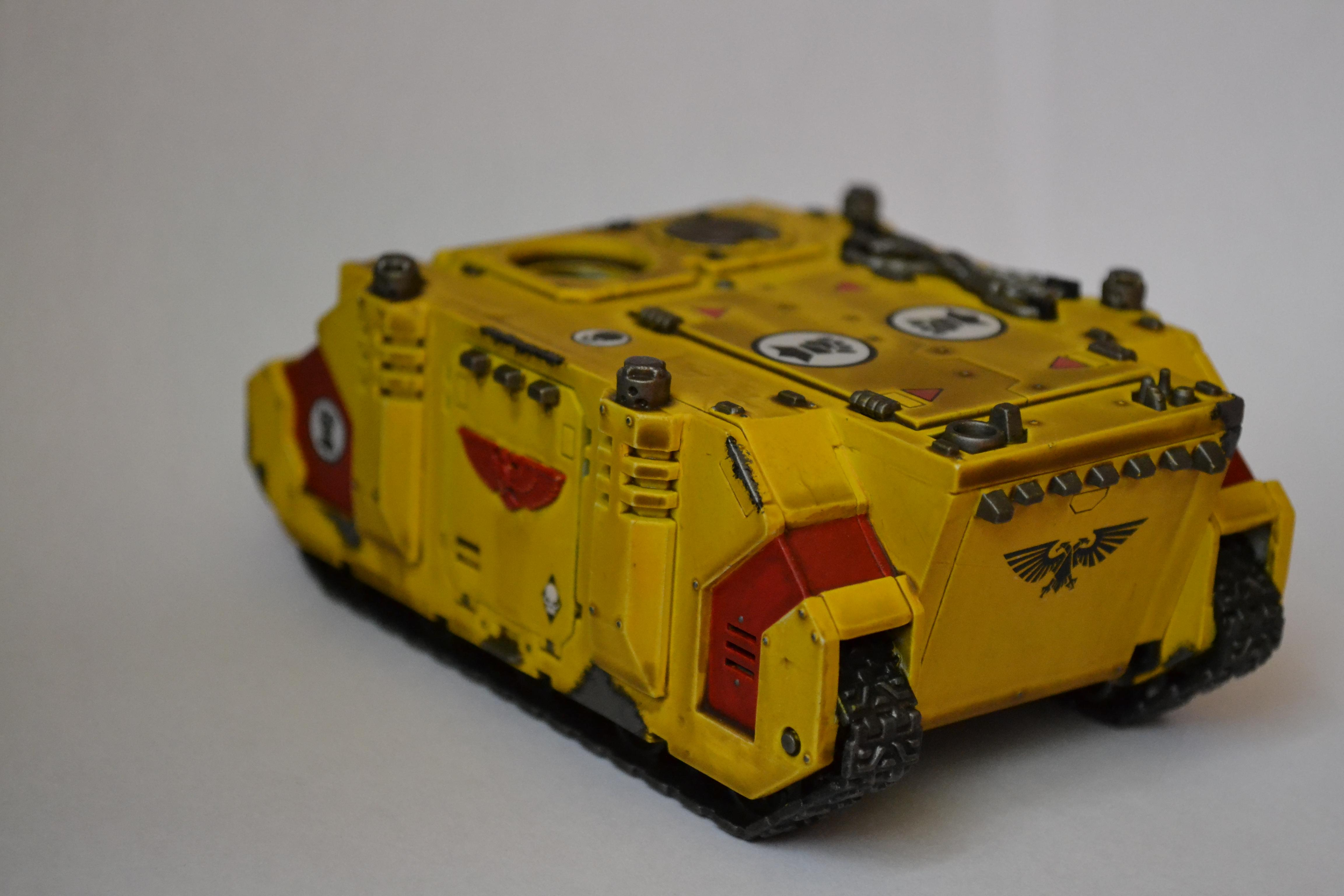 Imperial Fists, Rhino, Space Marines, Vehicle, Warhammer 40,000
