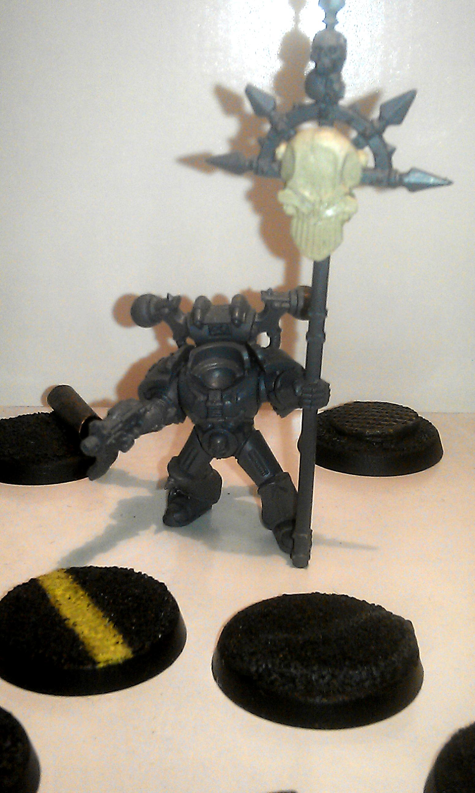 Chaos Space Marines, Icon, Iron Warriors, Work In Progress