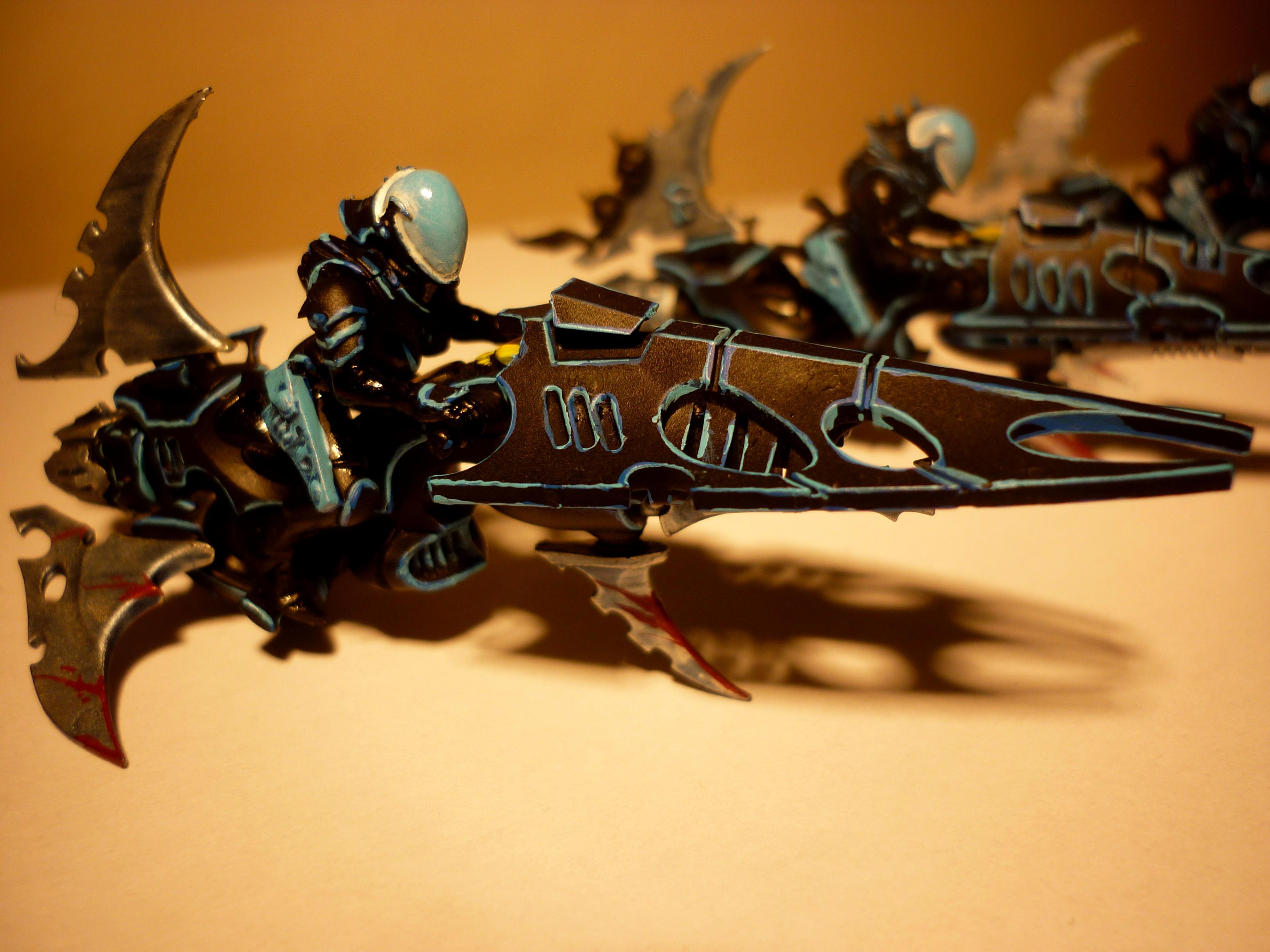 Dark Eldar, Fast Attack, Ice, Jetbike, Reaver, Warhammer 40,000