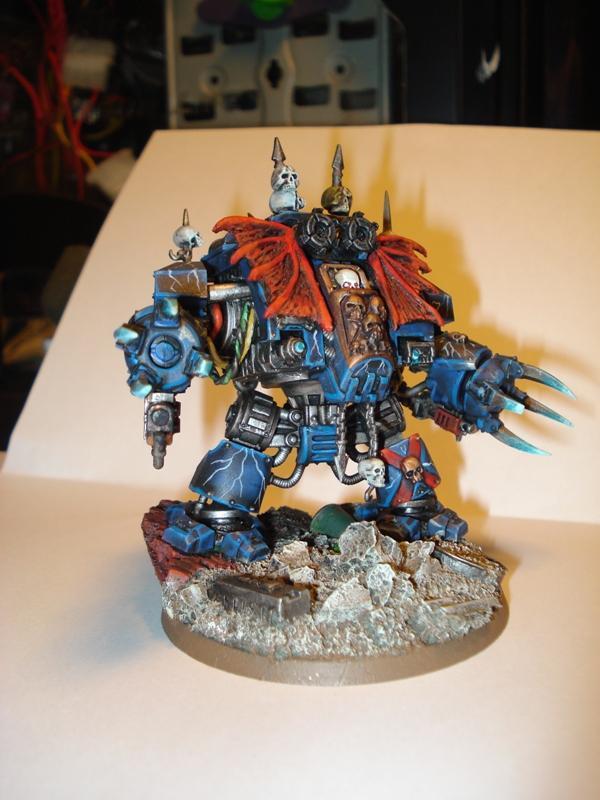 Chaos, Conversion, Dreadnought, Nightlords, Walker, Warhammer 40,000