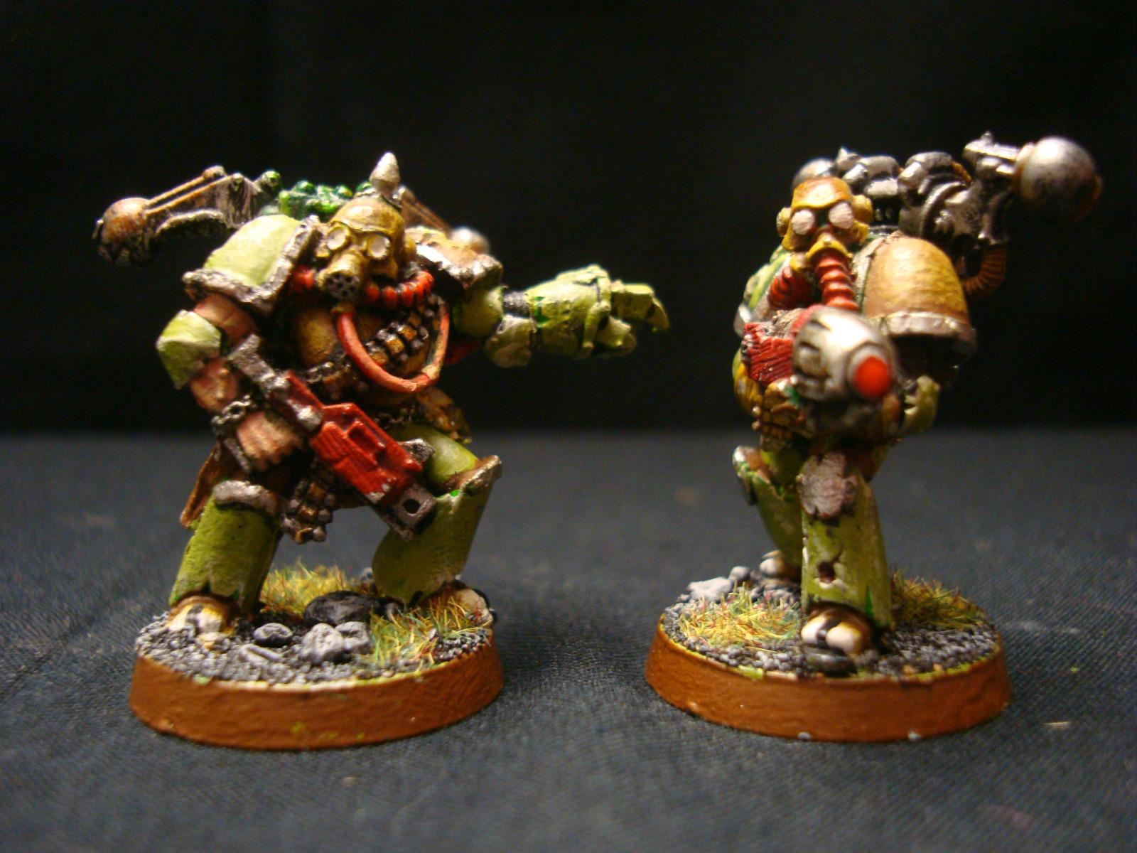 Chaos, Nurgle, Space Marines