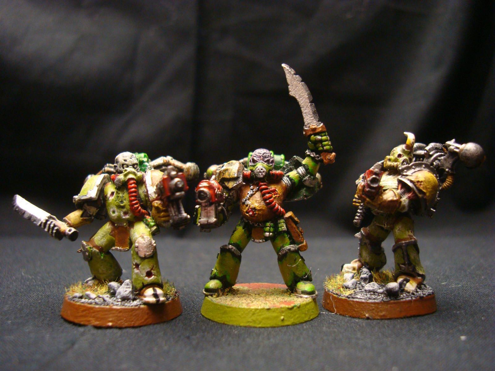 Chaos Space Marines, Nurgle, Plague Marines