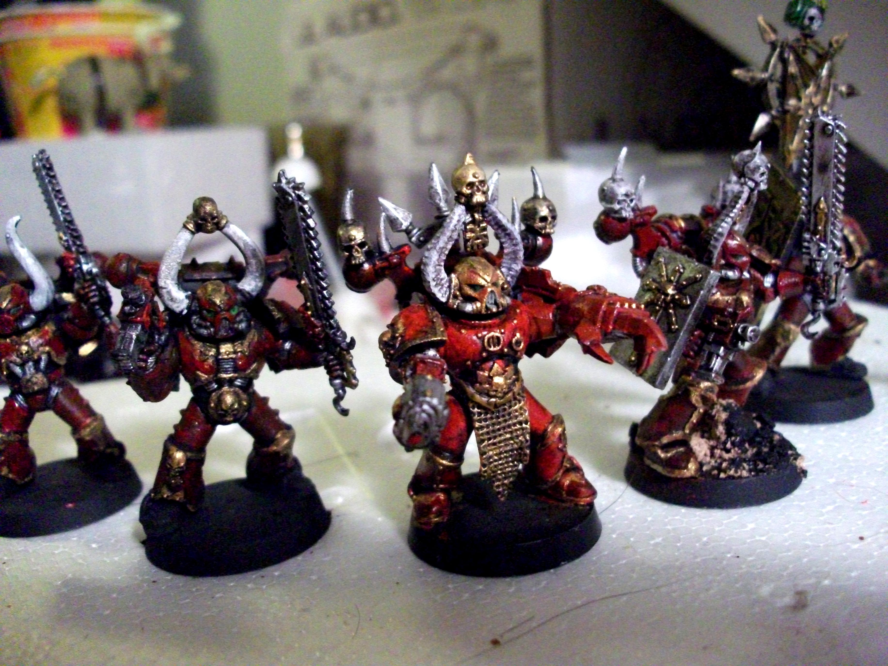 Blood For The Blood God, Chaos, Korne, Space Marines