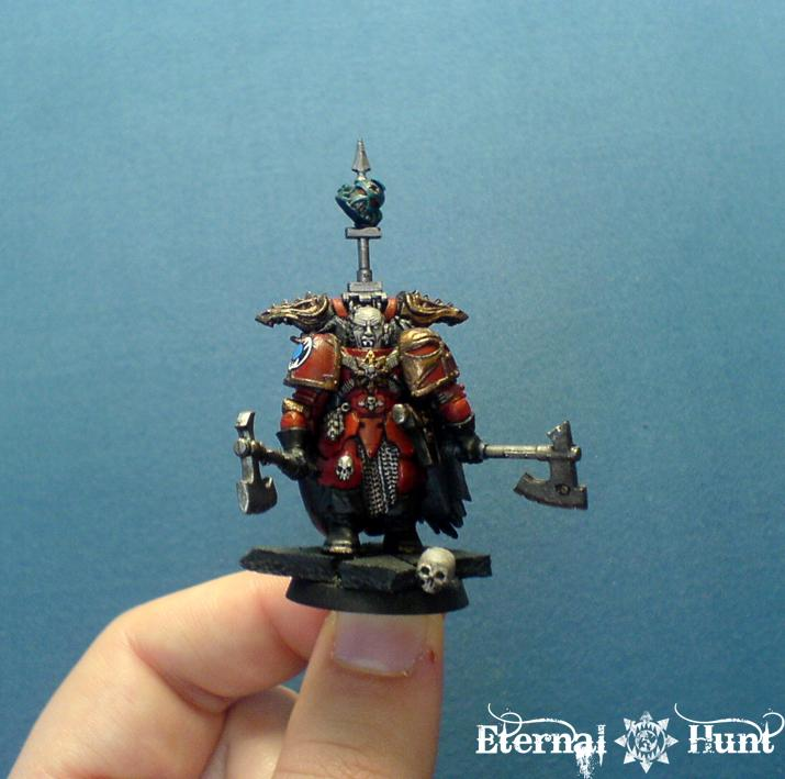 Chaos Lord  Chaos Space Marines  Conversion  Khorne