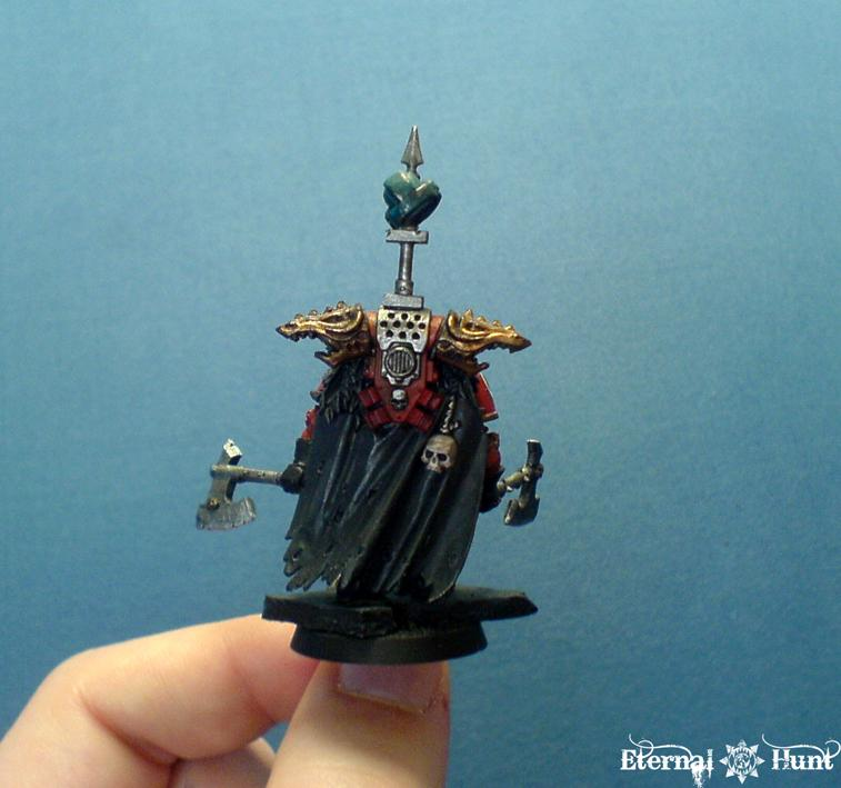 Chaos Lord, Chaos Space Marines, Conversion, Khorne, Warhammer 40,000, World Eaters