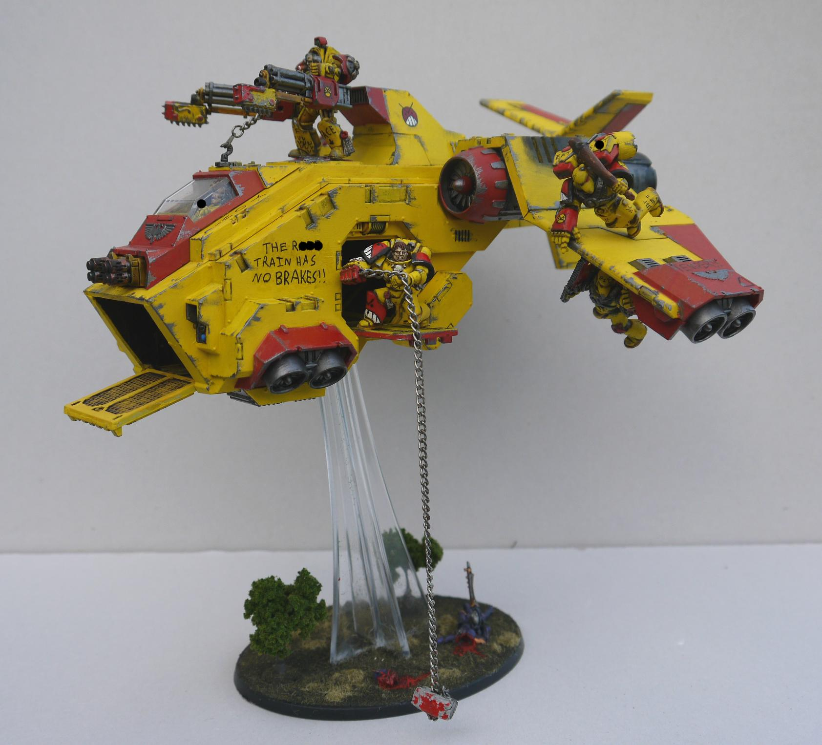 Angry Marines, Dropship, Fast Attack, Storm Raven