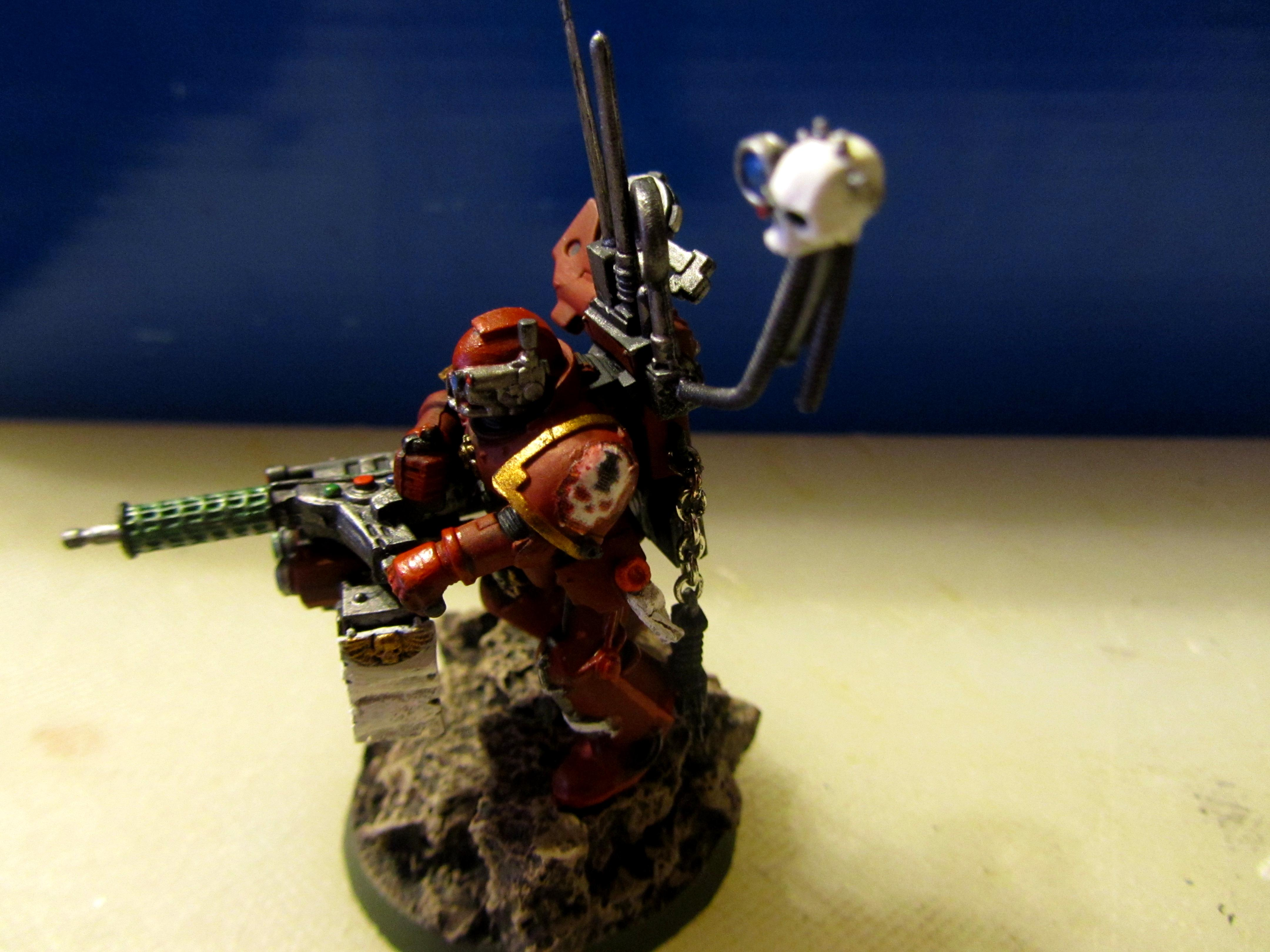 Beamer, Conversion, Forge, Inquisition, Master, Red Hunters, Space Marines, Techmarine, Warhammer 40,000, Warhammer Fantasy