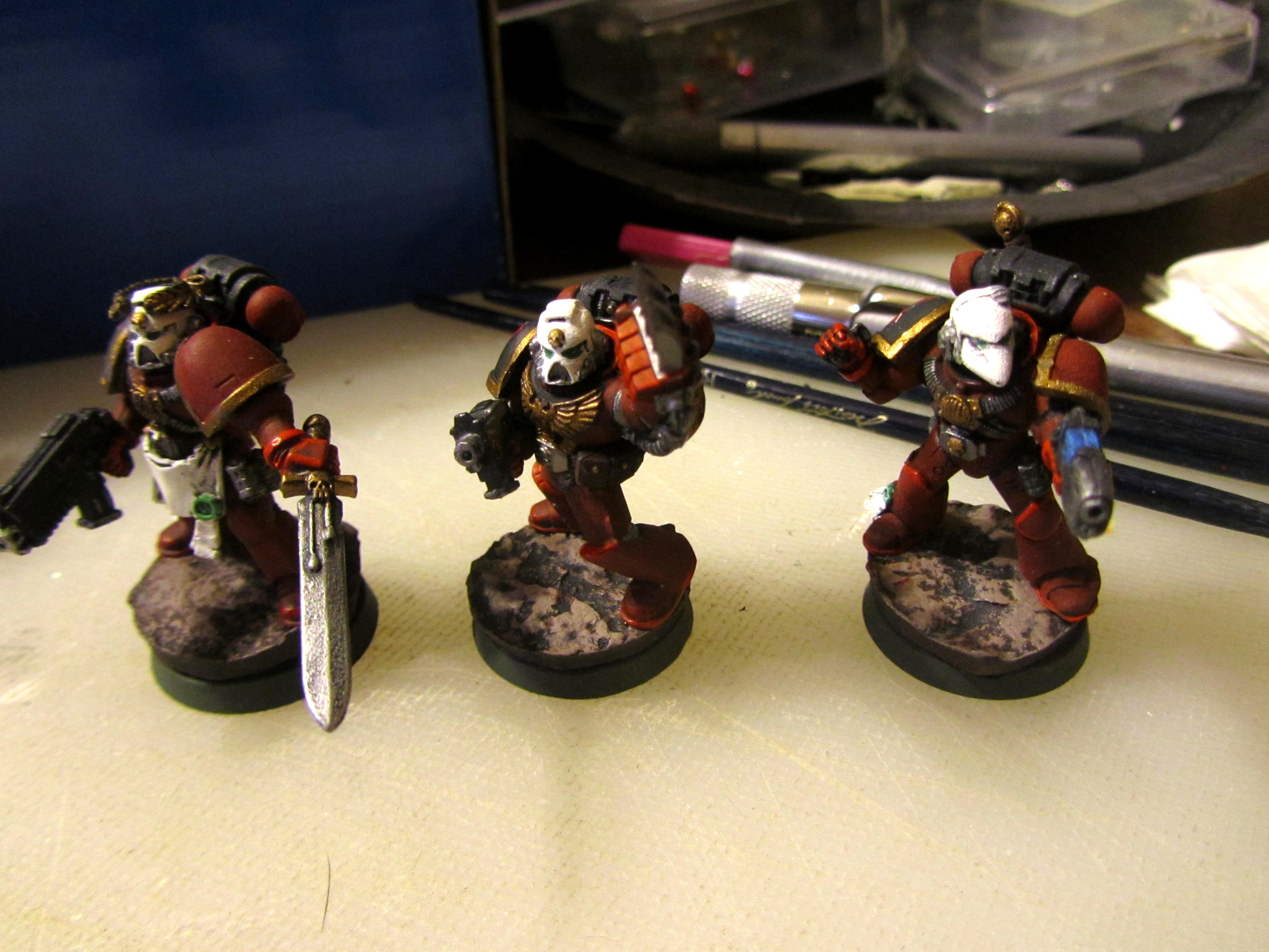 Inquisition, Red Hunters, Space Marines
