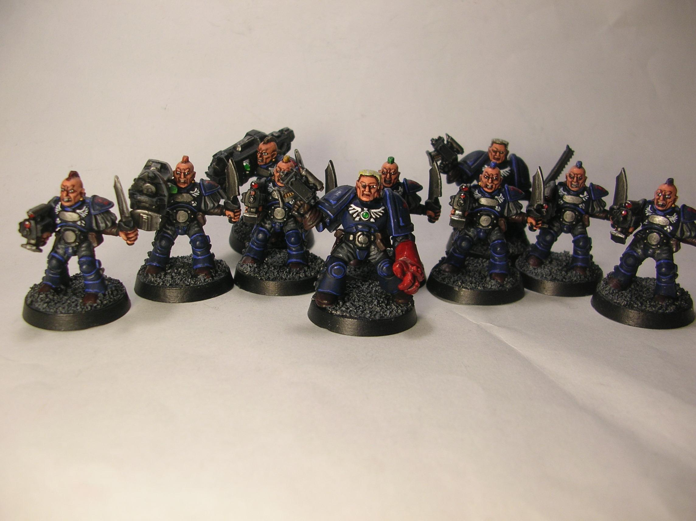 Crimson Fists, Scouts, Space Crusade, Space Marines