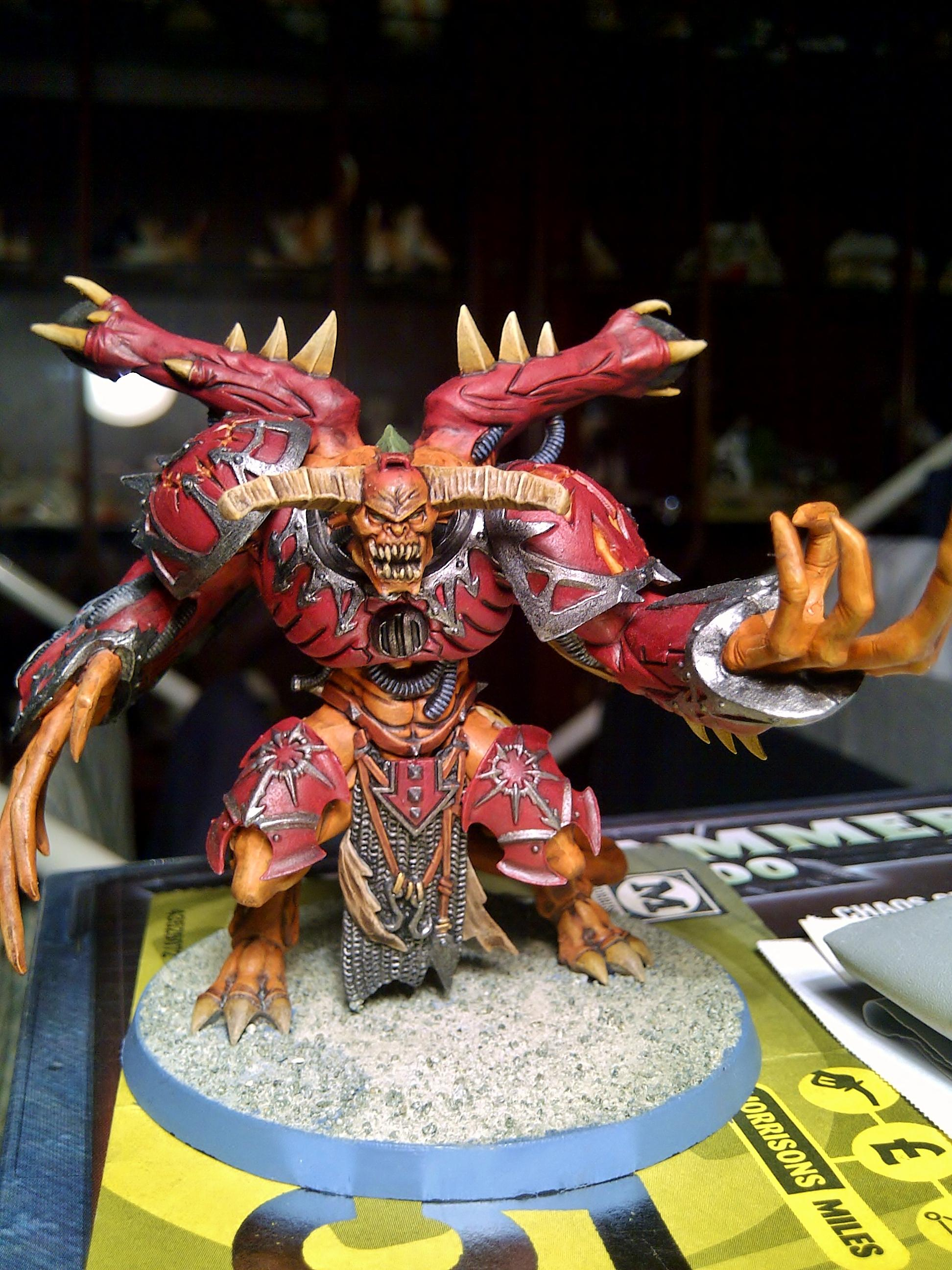 Chaos Space Marines, Daemon Prince, Warhammer 40,000, Word Bearers