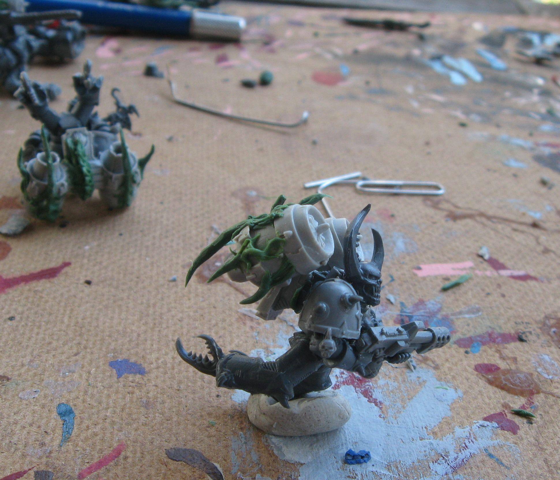 Chaos Space Marines, Conversion, Night Lords, Raptors