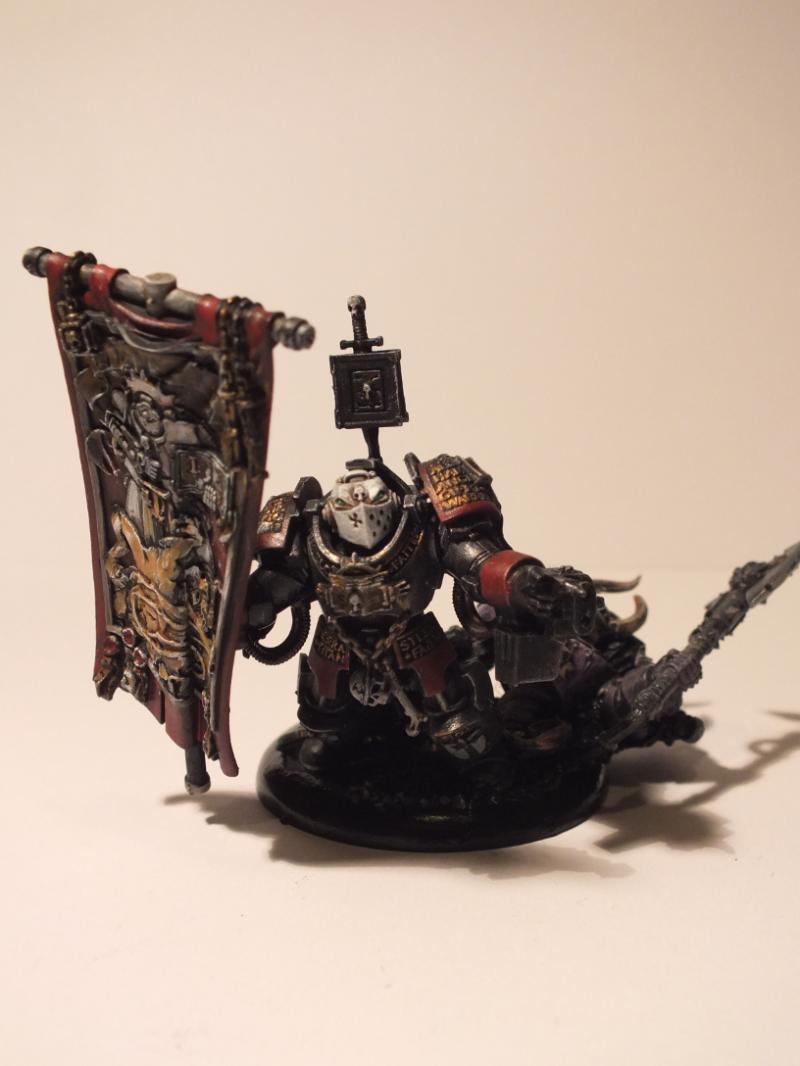Gk, Grey Knights, Paladin Standard