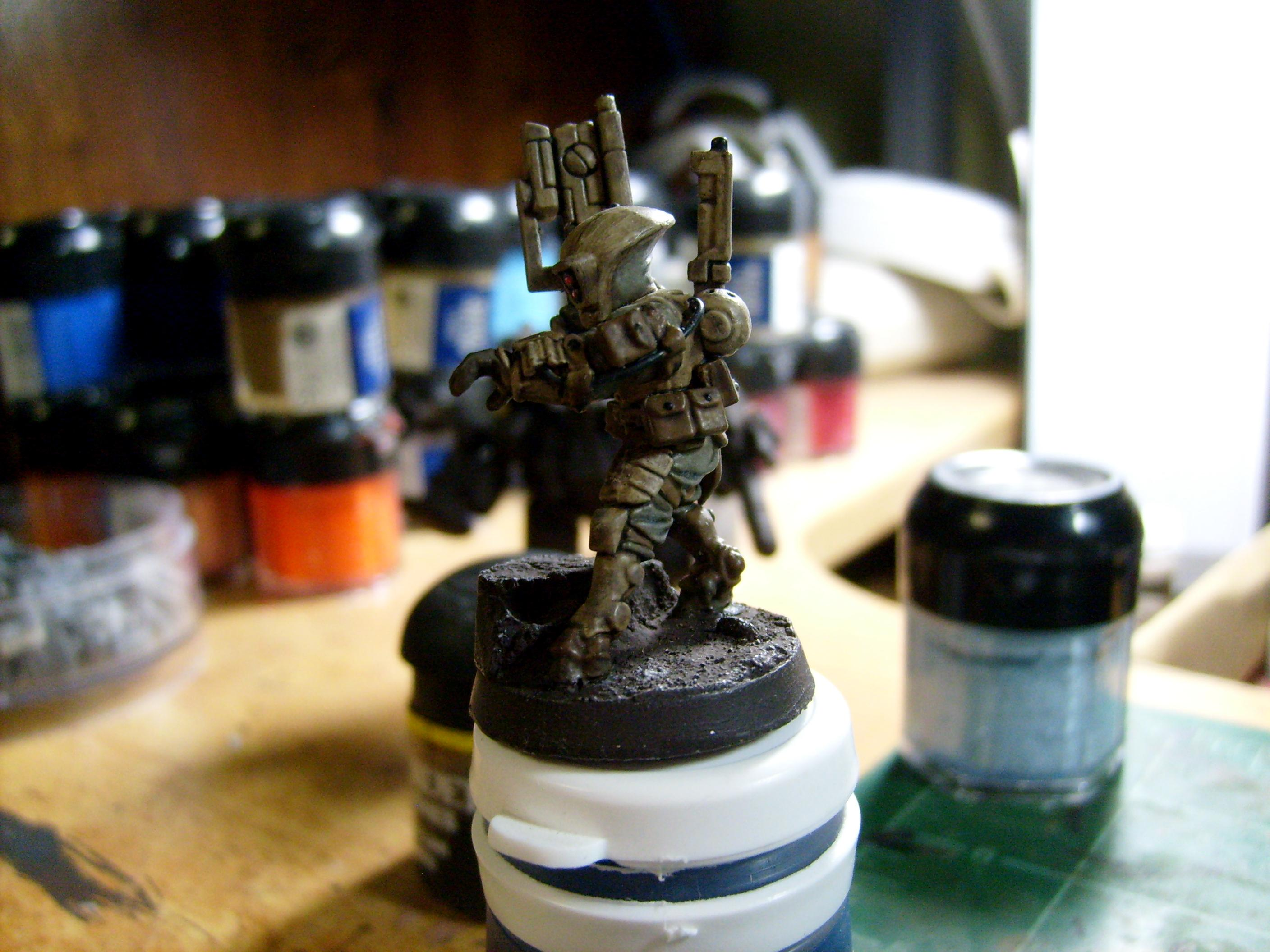 Army, Desert, Pathfinders, Tau, Warhammer 40,000, Work In Progress