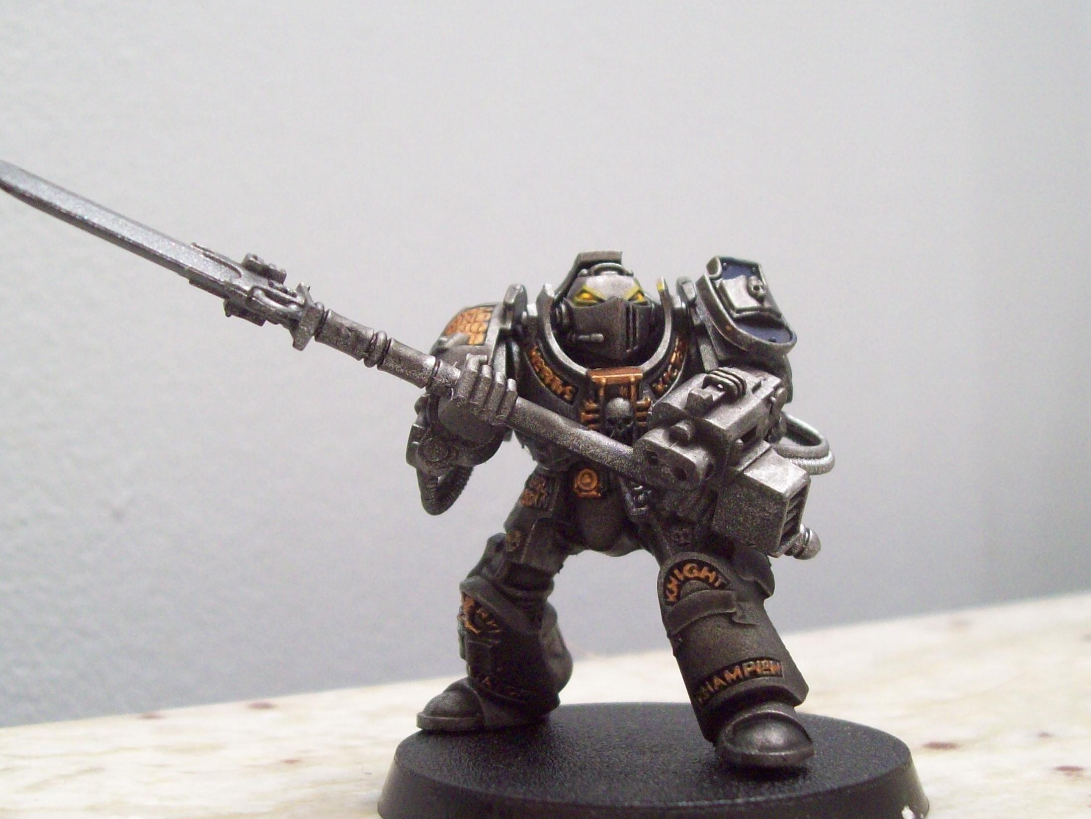 Adepticon 2012, Grey Knighrs, Work In Progress