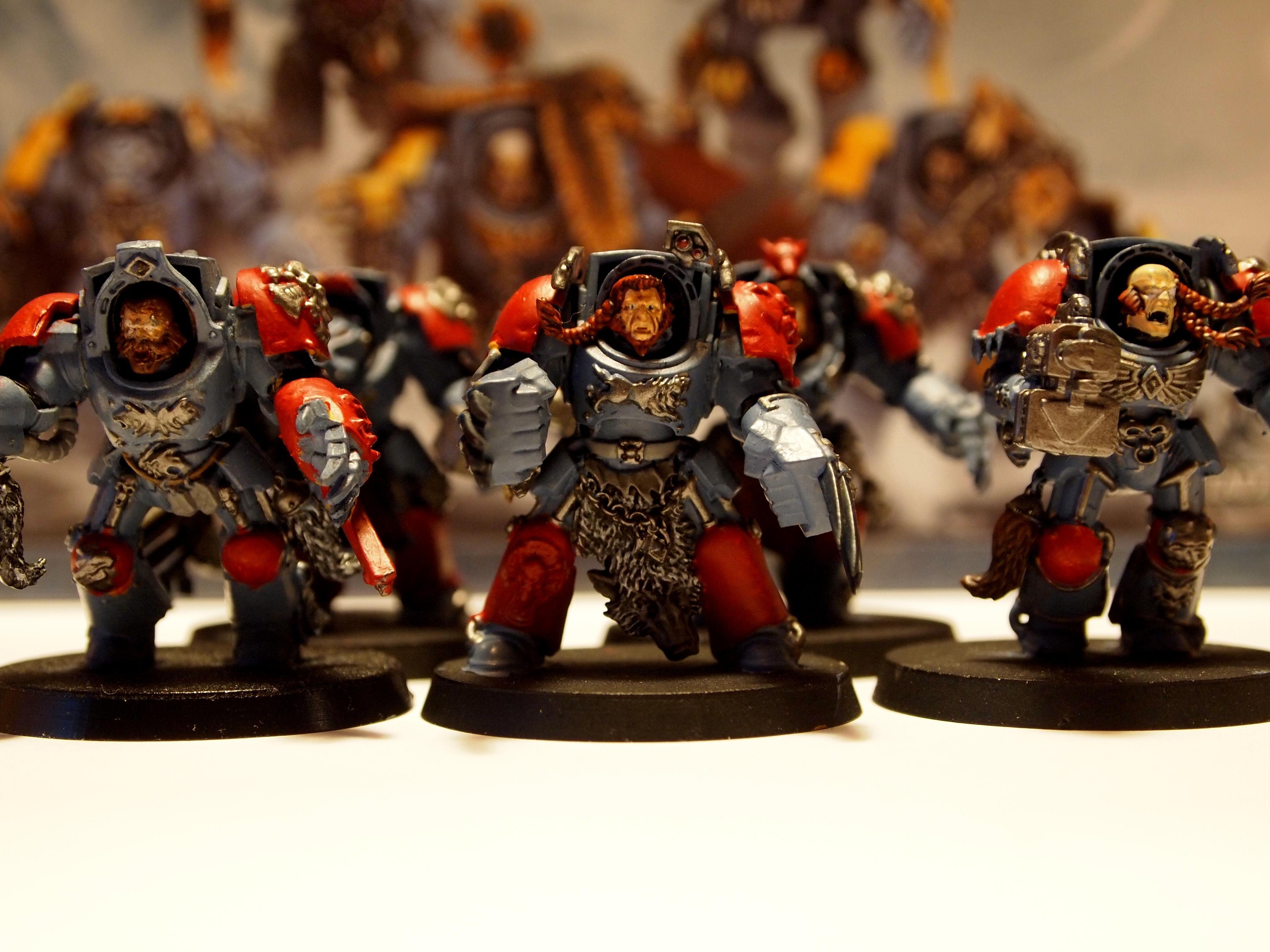 Space Wolves, Wolfguard Terminators