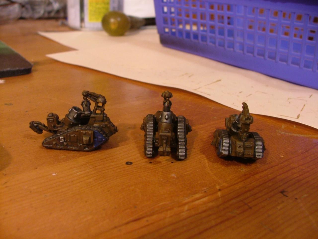 finished bombards