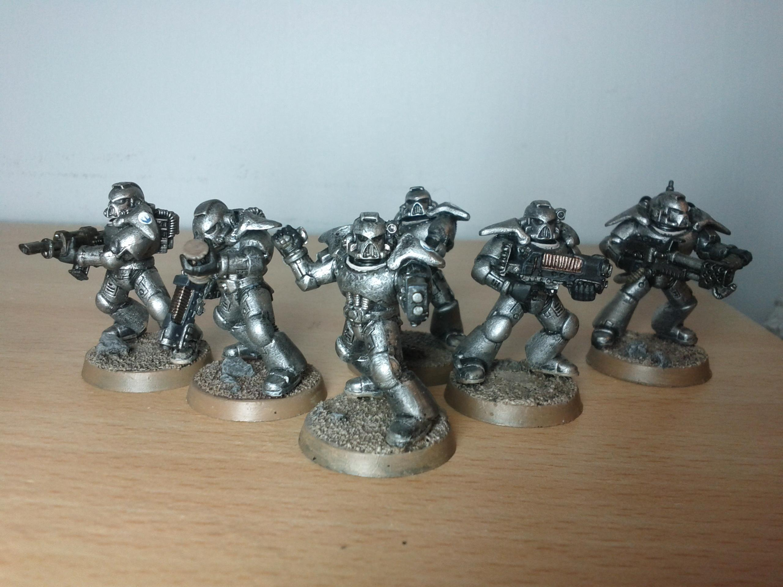 Fallout, Tinboy, Brotherhood all 6