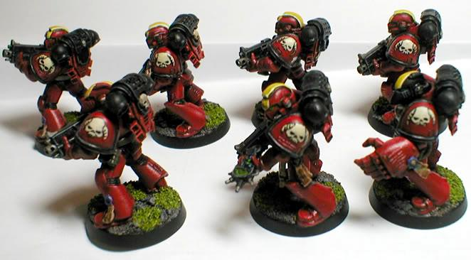 Exorcists, Space Marines, Tactical Squad