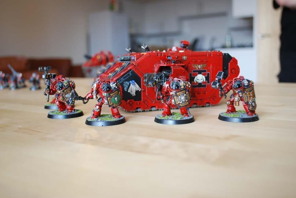 Exorcists, Land Raider, Space Marines, Terminator Armor