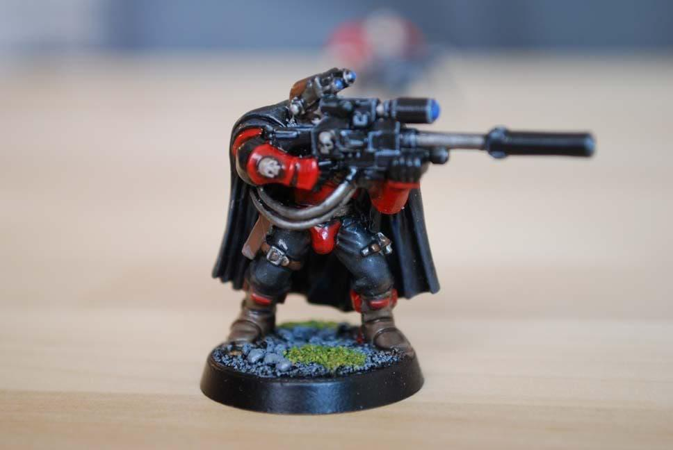 Exorcists, Scouts, Space Marines