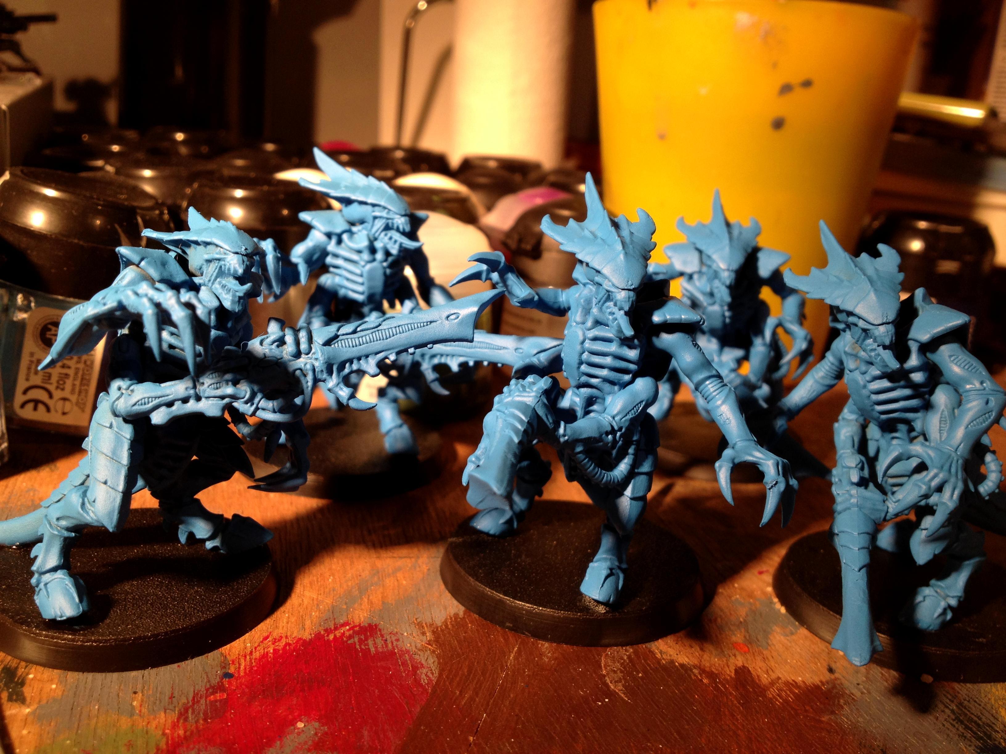 Dipped, Tyranids, Warhammer 40,000, Work In Progress