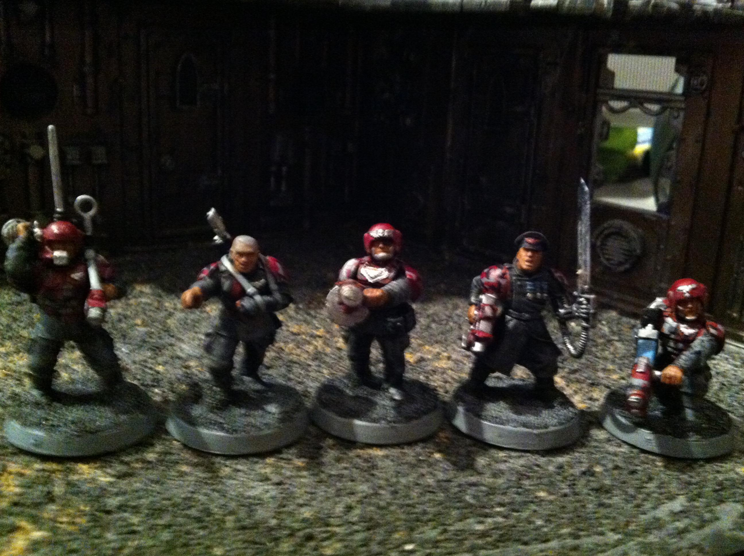 Camouflage, Ccs, Command, Imperial Guard, Oc, Red, Urban, Veteran