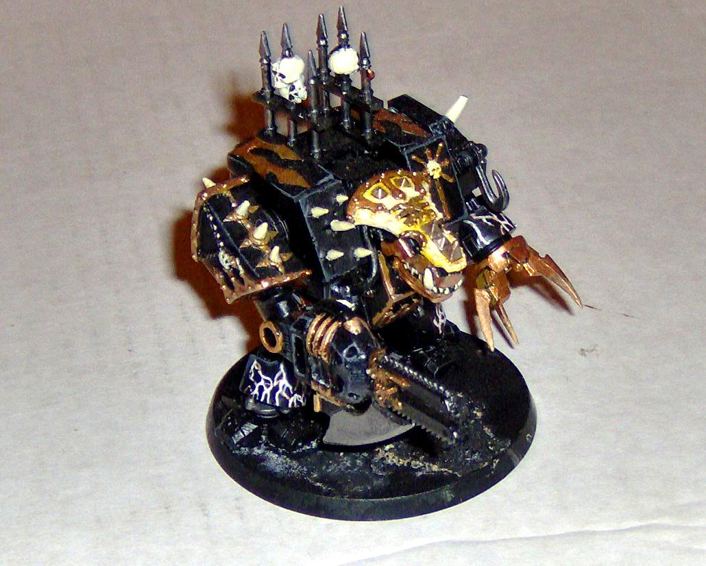 Chaos, Conversion Black Legion, Dreadnought, Khorne