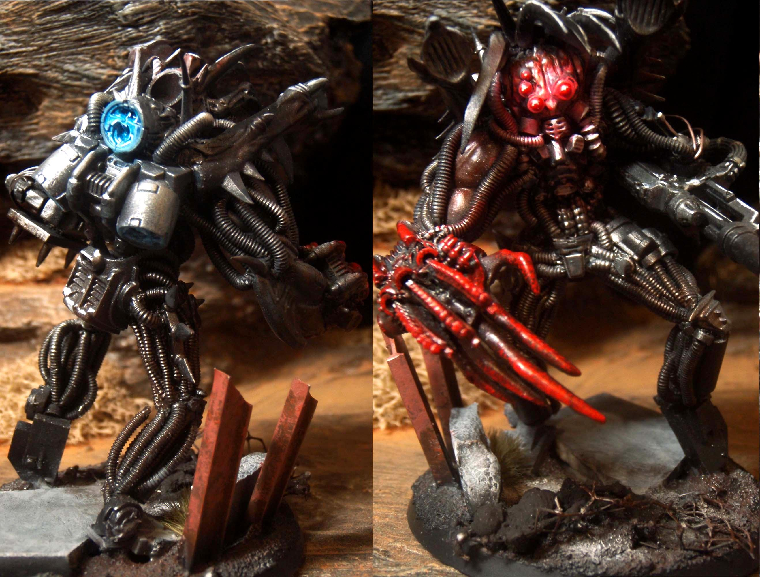 Chaos Daemons, Chaos Space Marines, Conversion, Daemon Prince, Daemons, Object Source Lighting