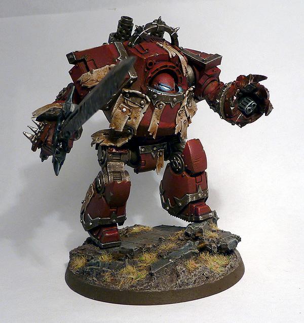 Chaos, Contemptor Dreadnought, Dreadnought, Object Source Lighting, Scripture, Warhammer 40,000, Word Bearers