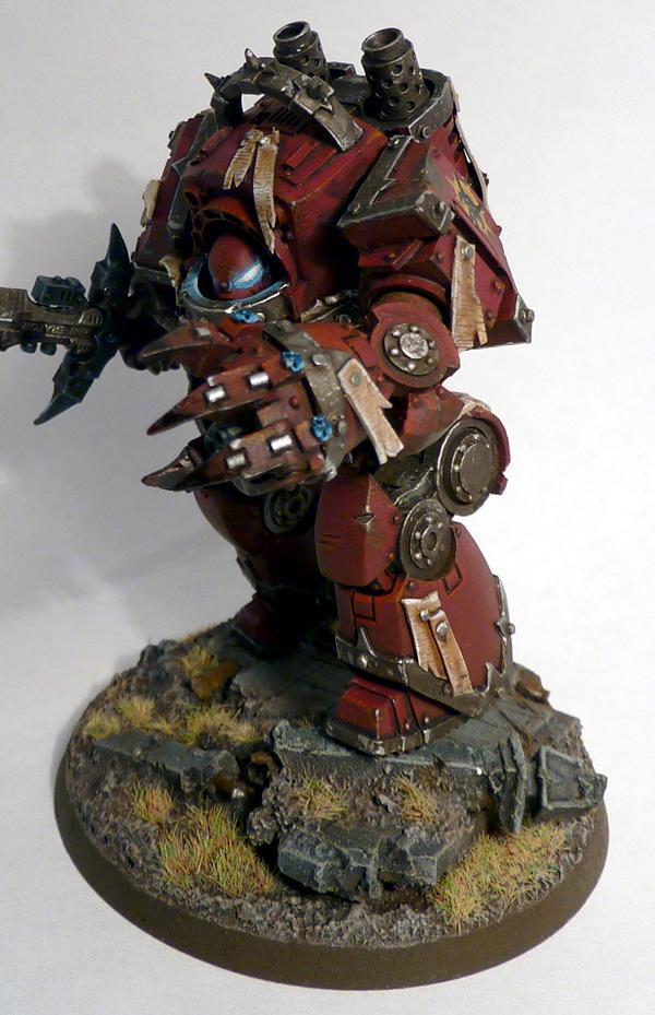 Chaos, Chaos Space Marines, Contemptor Dreadnought, Warhammer 40,000, Word Bearers