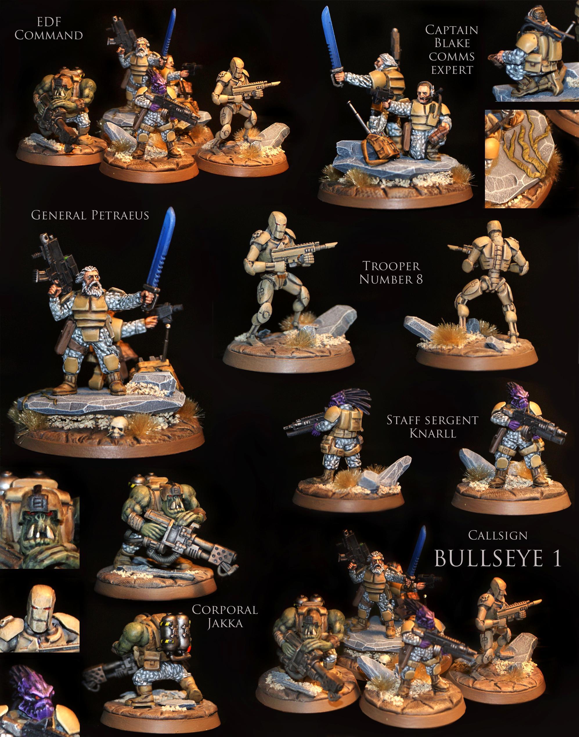 Guard, Imperial Guard, Mercenary, Xenos