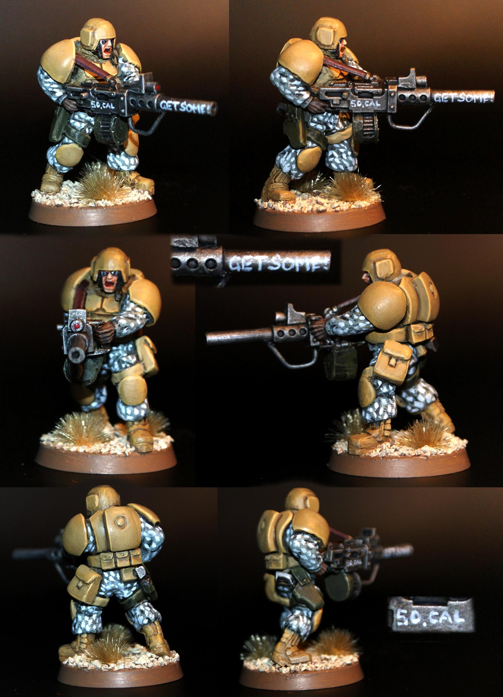 Cammo, Get Some, Heavy Stubber, Imperial Guard