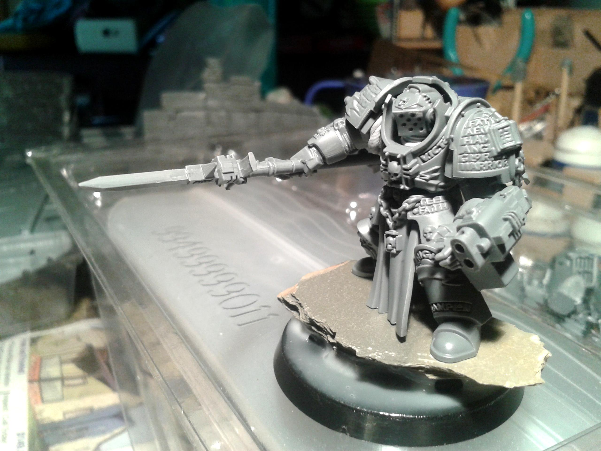 Gk, Grey Knights, Terminator Armor