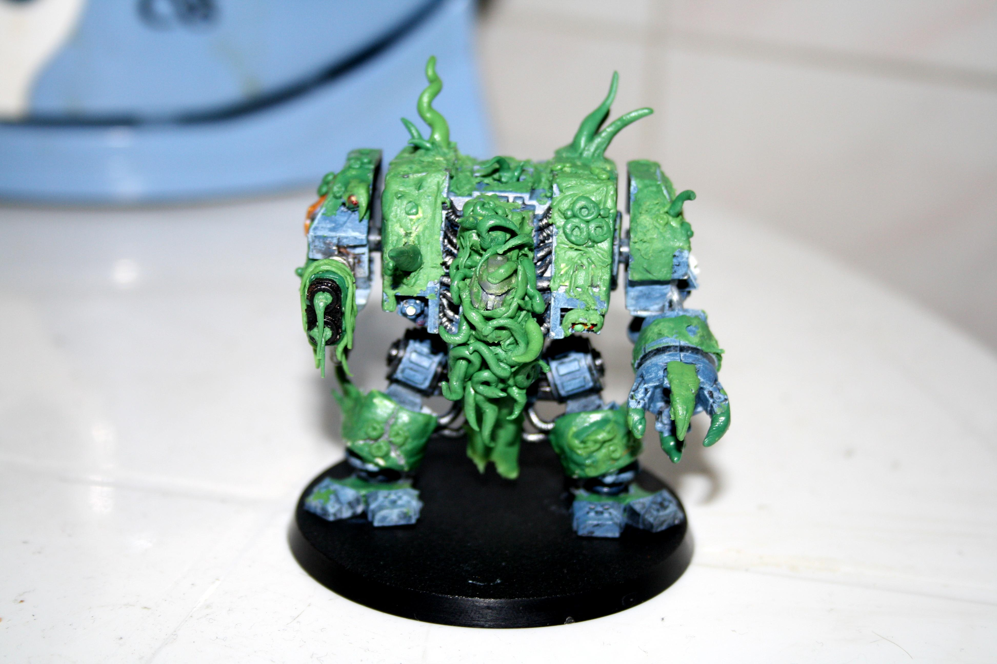 Chaos, Conversion, Dreadnought, Nurgle