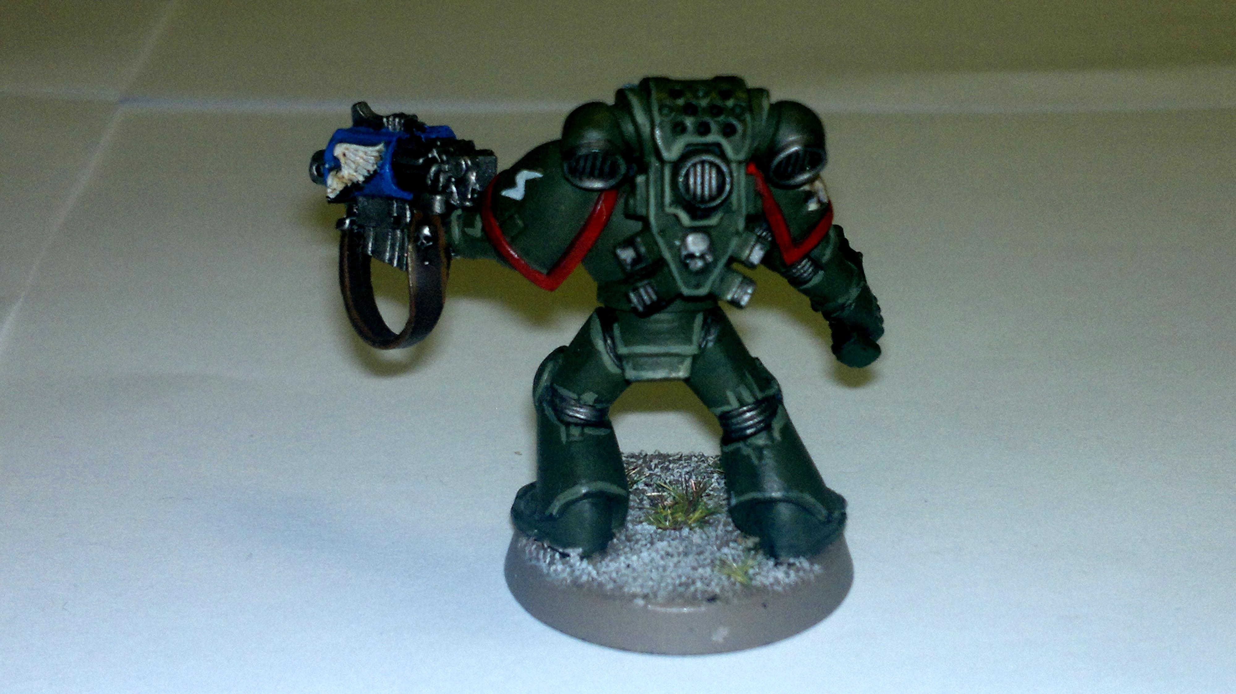 Broken Swords, Command Squa, Space Marines, Storm Bolter, Veteran, Warhammer 40,000