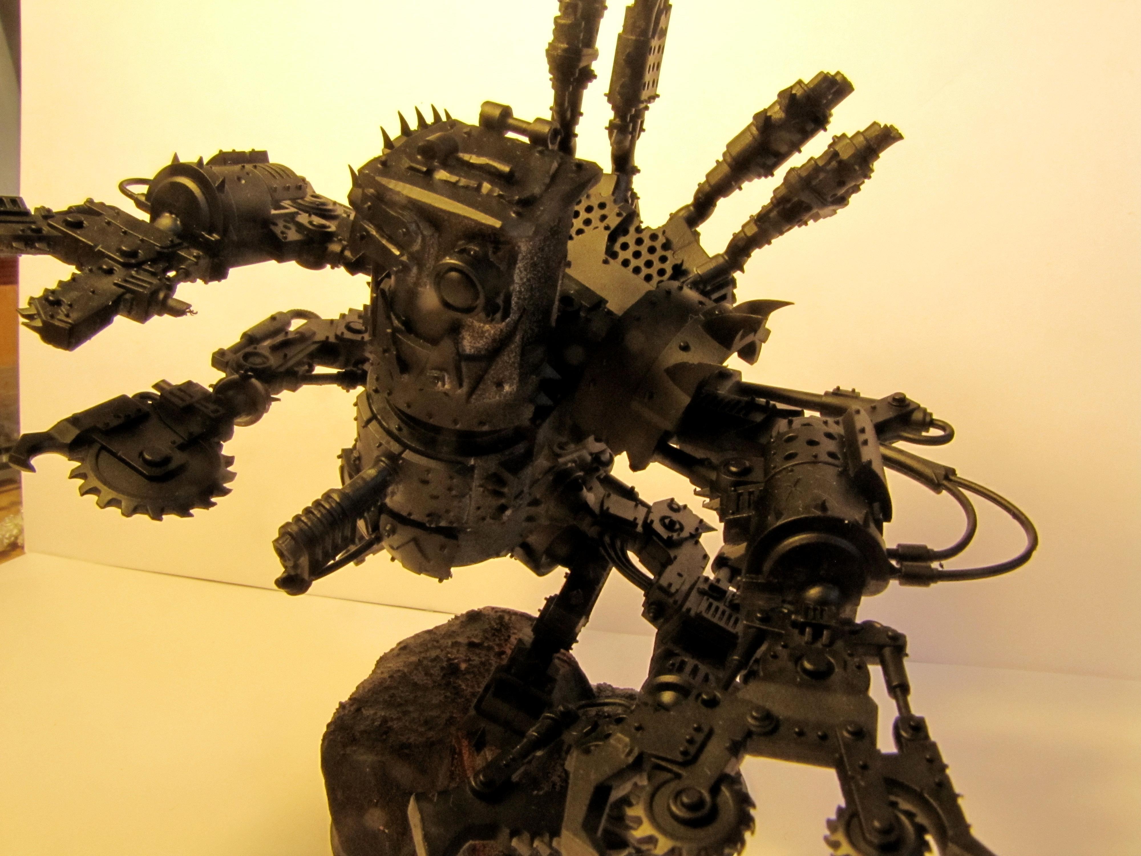 Conversion, Deff Dread, Orks, Primered