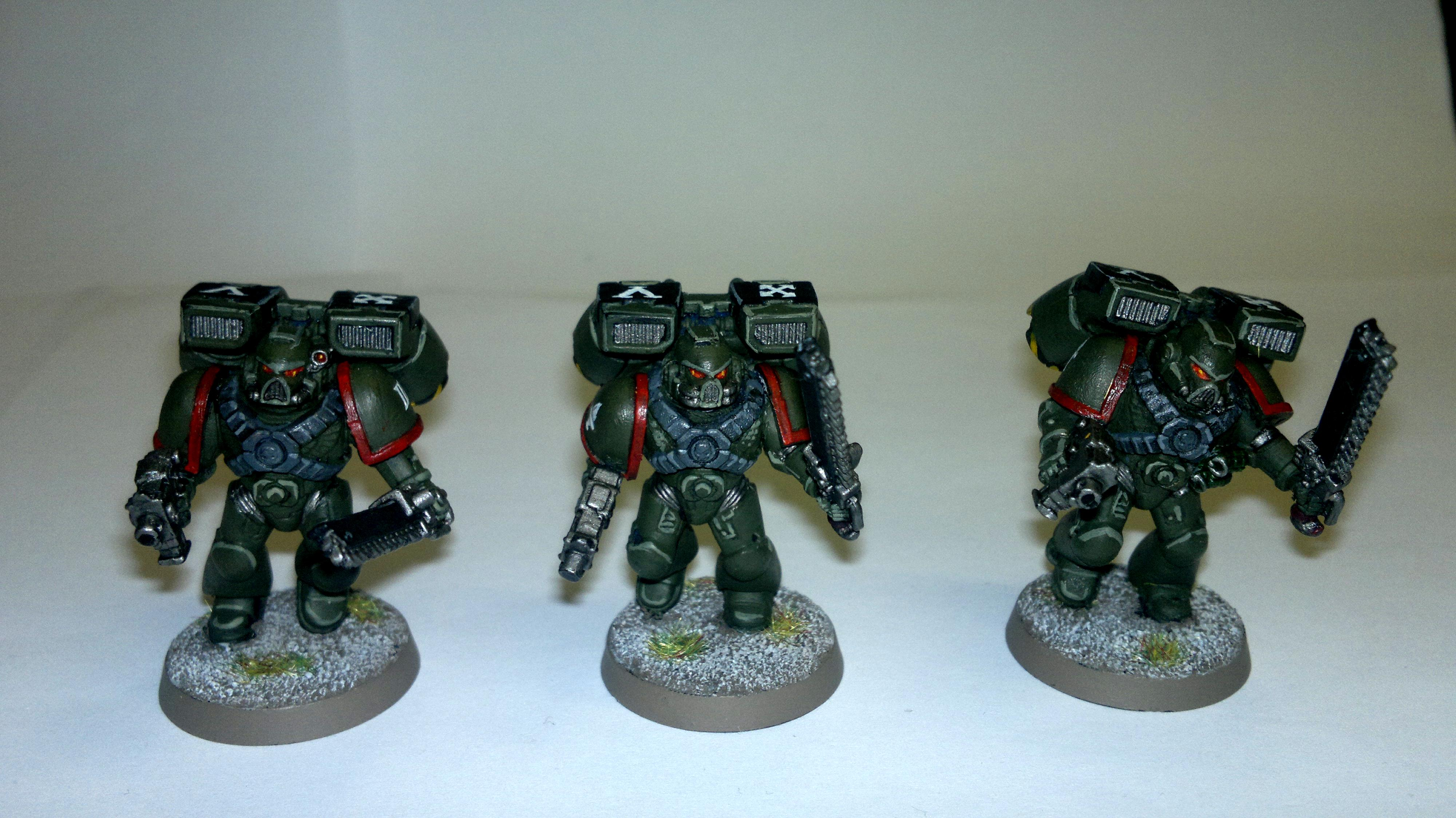 Assualt Squad, Imperial, Space Marines, Warhammer 40,000