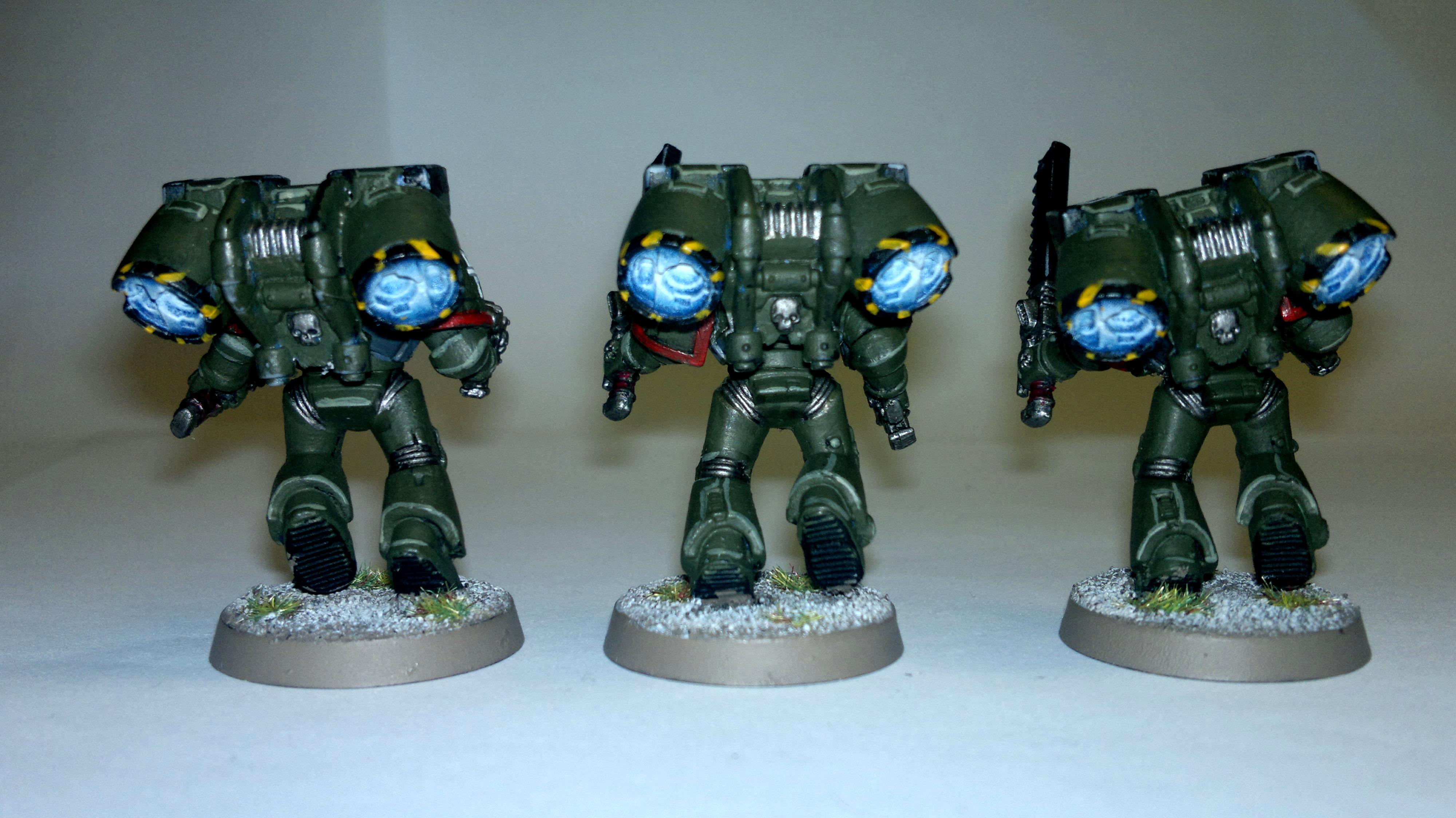 Assualt Squad, Imperial, Jump Pack, Object Source Lighting, Space Marines, Warhammer 40,000