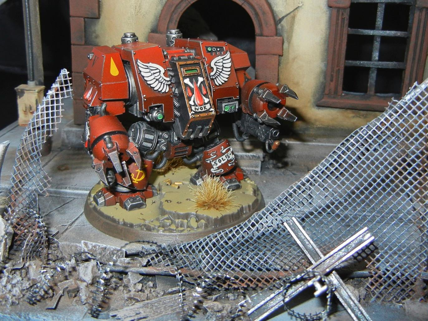 Blood Angels, Dreadnought, Furioso, Space Marines, Warhammer 40,000